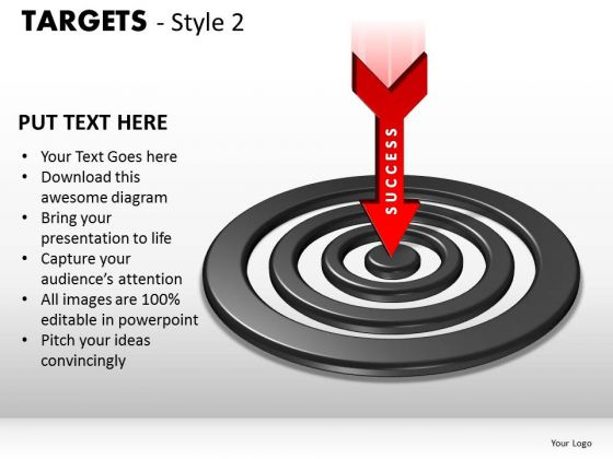 Success Targets 2 PowerPoint Slides And Ppt Diagram Templates