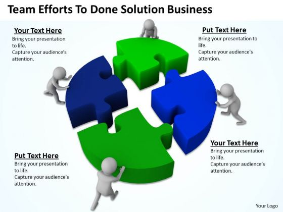 Successful Business Men To Done Solution New PowerPoint Presentation Slides