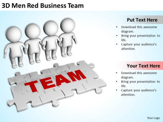 Successful Business People PowerPoint Templates Free Download Team