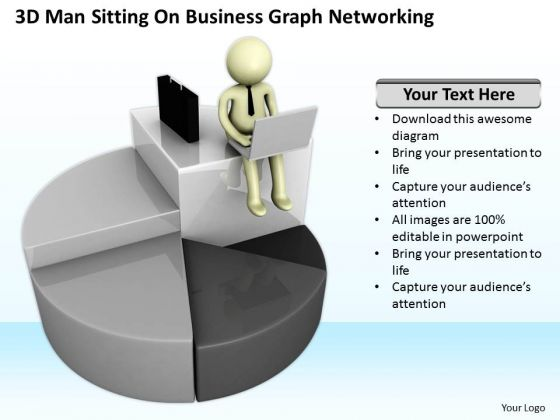 Successful Business People World PowerPoint Templates Graph Networking Slides