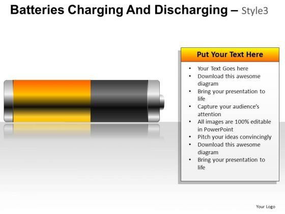 Supply Batteries Charging And Discharging 3 PowerPoint Slides And Ppt Template Diagrams