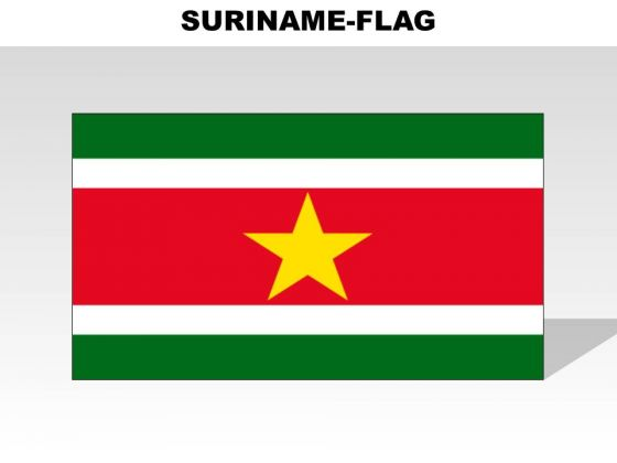 Suriname Country PowerPoint Flags