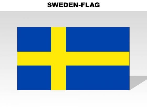 Sweden Country PowerPoint Flags