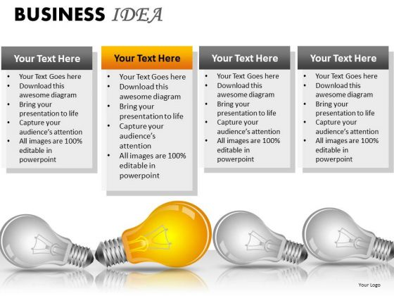 Symbol Business Idea PowerPoint Slides And Ppt Diagram Templates