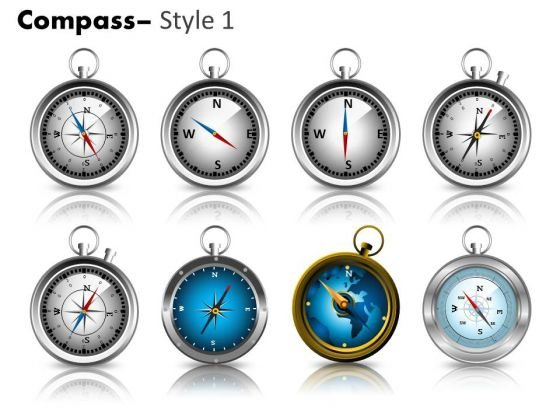 Symbol Compass 1 PowerPoint Slides And Ppt Diagram Templates
