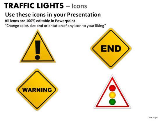 Symbol Design Traffic Light PowerPoint Slides And Ppt Diagram Templates