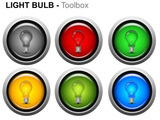 Symbol Light Bulb PowerPoint Slides And Ppt Template Diagrams