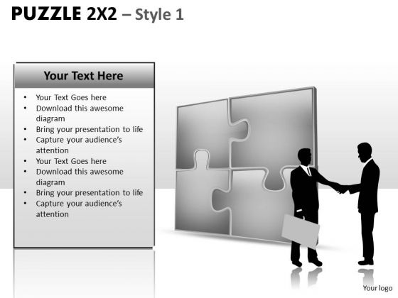 Symbol Puzzle 2x2 1 PowerPoint Slides And Ppt Diagram Templates