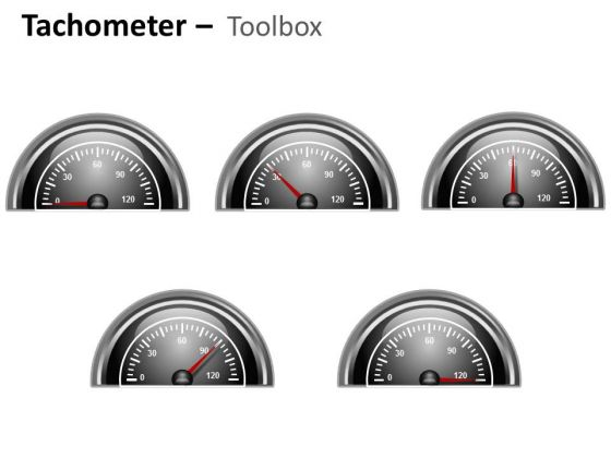 Symbol Tachometer Half Dial PowerPoint Slides And Ppt Diagram Templates