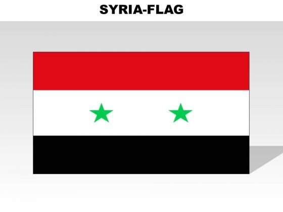 Syria Country PowerPoint Flags