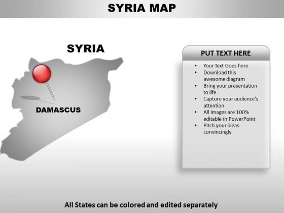 Syria Country PowerPoint Maps
