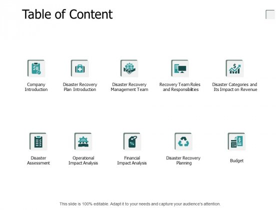 Table Of Content Company Introduction Ppt PowerPoint Presentation Icon File Formats