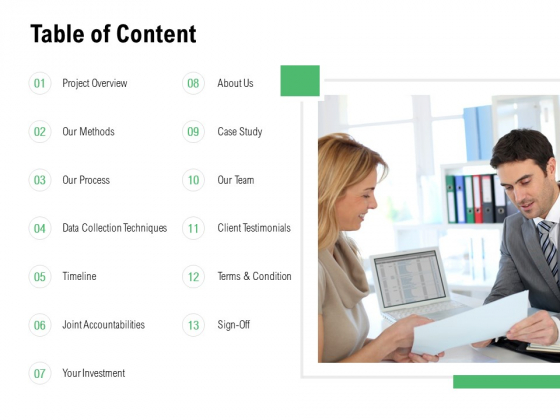 Table Of Content Techniques Ppt PowerPoint Presentation Icon Guide