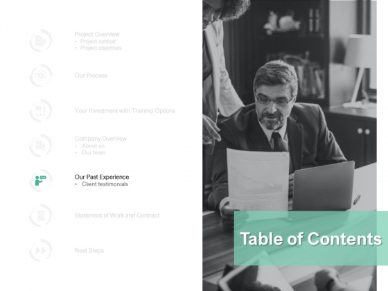 Table Of Contents Management Ppt PowerPoint Presentation Deck
