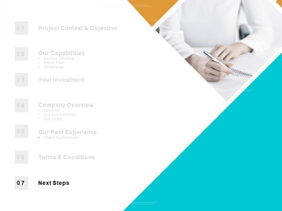 Table Of Contents Next Steps Ppt PowerPoint Presentation Infographics Brochure
