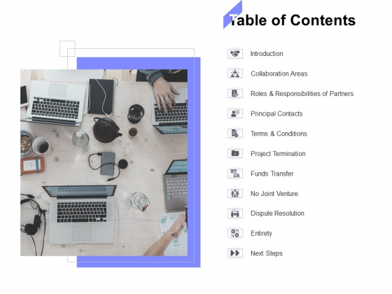 Table Of Contents Ppt PowerPoint Presentation File Background Designs