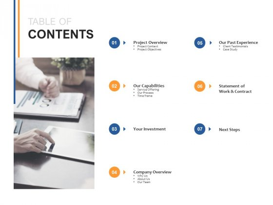 Table Of Contents Ppt PowerPoint Presentation Infographics Outfit