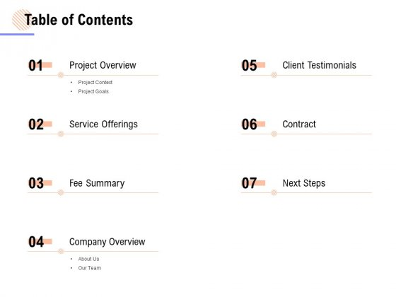Table Of Contents Ppt PowerPoint Presentation Inspiration Styles