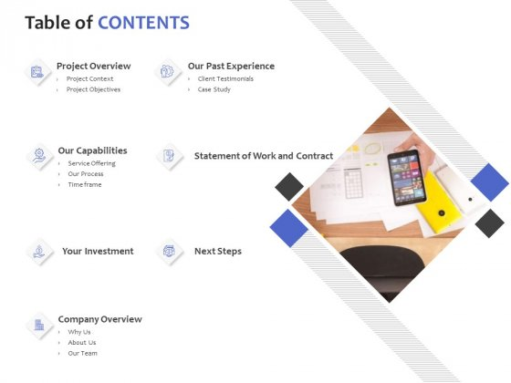 Table Of Contents Ppt PowerPoint Presentation Portfolio Sample