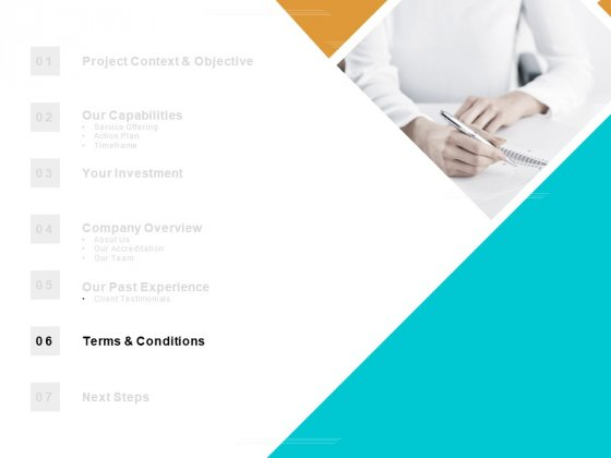 Table Of Contents Terms And Conditions Ppt PowerPoint Presentation Files