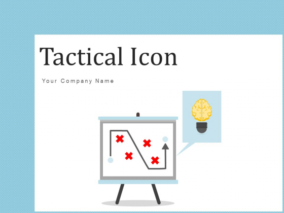 Tactical Icon Plan Goals Ppt PowerPoint Presentation Complete Deck With Slides