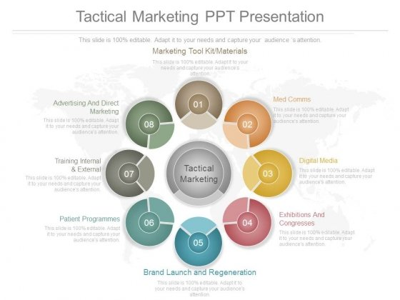 tactical marketing ppt presentation powerpoint templates