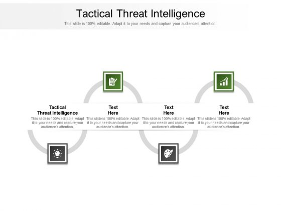 Tactical Threat Intelligence Ppt PowerPoint Presentation Professional Graphics Cpb Pdf
