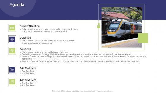 Tactics To Enhance The Understanding Of A Railway Business Case Competition Agenda Microsoft PDF