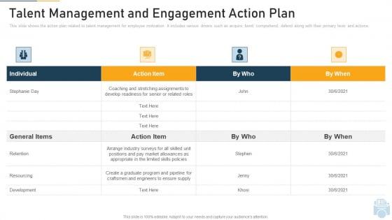 Talent_Management_And_Engagement_Action_Plan_Ppt_Portfolio_Files_PDF_Slide_1