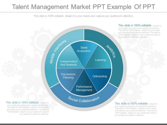 Talent Management Market Ppt Example Of Ppt