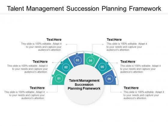 Talent Management Succession Planning Framework Ppt PowerPoint Presentation Professional Slides Cpb