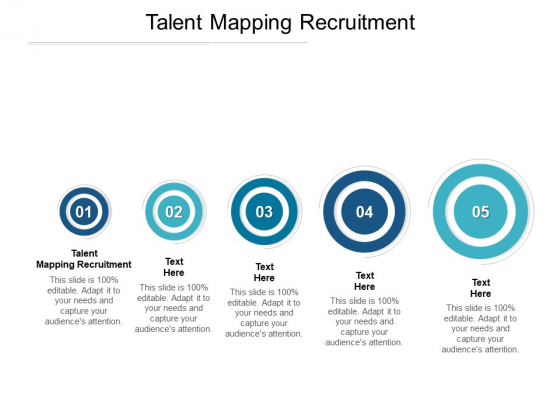 Talent Mapping Recruitment Ppt PowerPoint Presentation Diagram Ppt Cpb Pdf