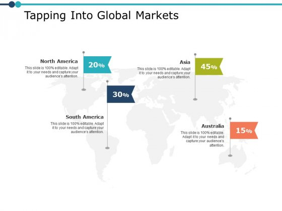 Tapping Into Global Markets Ppt PowerPoint Presentation Model Graphics Design