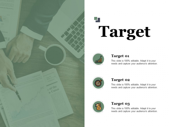 Target About New Product Ppt PowerPoint Presentation Infographic Template Objects