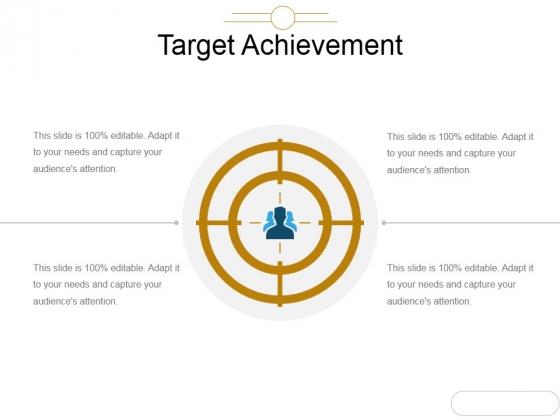Target Achievement Ppt PowerPoint Presentation Background Images