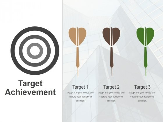 Target Achievement Ppt PowerPoint Presentation Professional Ideas