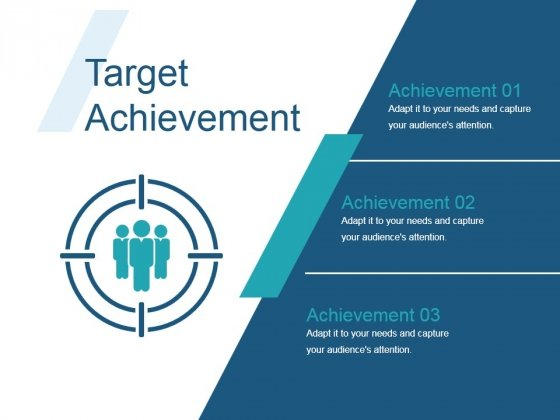 Target Achievement Ppt PowerPoint Presentation Shapes