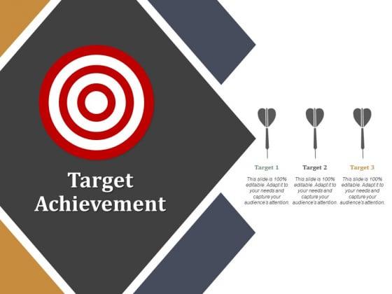 Target Achievement Ppt PowerPoint Presentation Show Master Slide