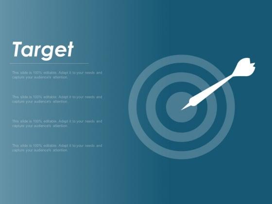 Target Arrow Goal Ppt Powerpoint Presentation Professional Deck
