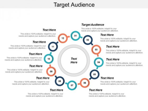 Target Audience Ppt PowerPoint Presentation Infographic Template Examples Cpb