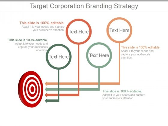 target corporation branding strategy ppt powerpoint presentation, Target Corporation Powerpoint Presentation Template, Presentation templates