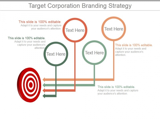 Target Corporation Branding Strategy Ppt PowerPoint Presentation Infographic Template