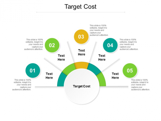 Target Cost Ppt PowerPoint Presentation Layouts Information Cpb