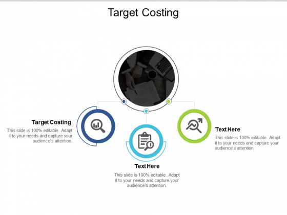 Target Costing Ppt PowerPoint Presentation Visual Aids Backgrounds Cpb