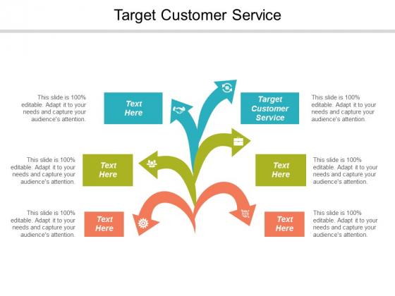Target Customer Service Ppt Powerpoint Presentation Summary Sample Cpb