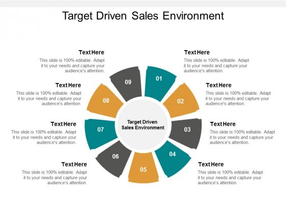Target Driven Sales Environment Ppt PowerPoint Presentation Styles Infographic Template Cpb