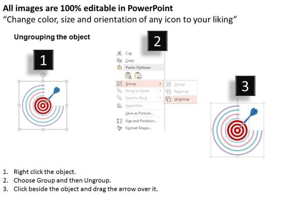 Target_Four_Arrows_And_Business_Achievement_Powerpoint_Template_2