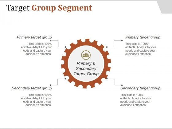 Target Group Segment Ppt PowerPoint Presentation Infographic Template
