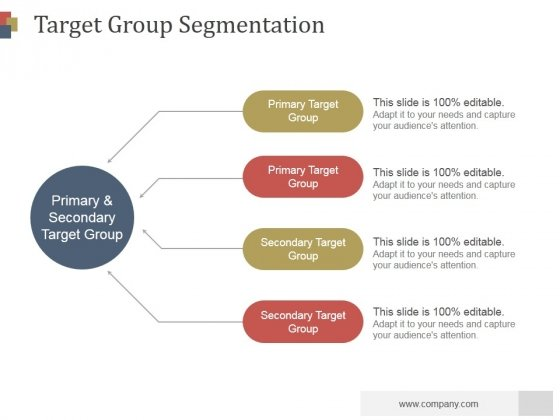 Target Group Segmentation Ppt PowerPoint Presentation Introduction
