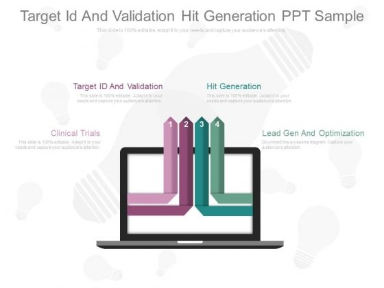 Target Id And Validation Ppt Sample